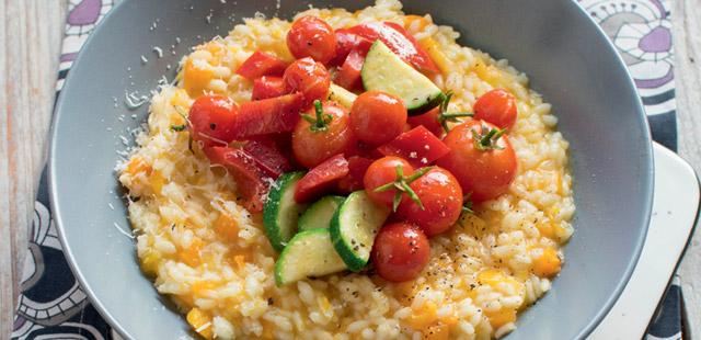 Risotto z dynią i warzywami (4porcje)