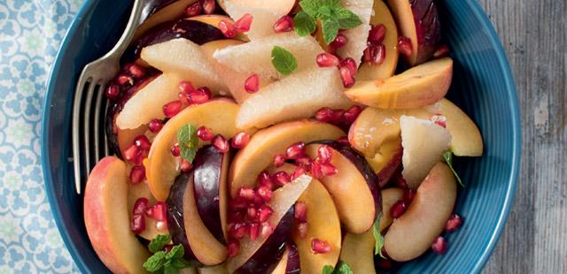 Jesienna sałatka z pomelo ( 3 porcje)